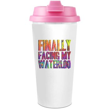 Colorful Waterloo Plastic Travel Coffee Cup - 450 ml - Enjoy Your Drinks Everywhere