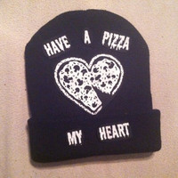 have a pizza my heart by BlissfulBritney on Etsy