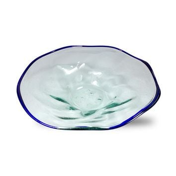 Glass Bowl - Hand Blown from Bali