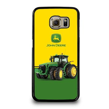JOHN DEERE WITH TRACTOR Samsung Galaxy S6 Case Cover