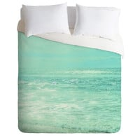 Lisa Argyropoulos Where Ocean Meets Sky Duvet Cover