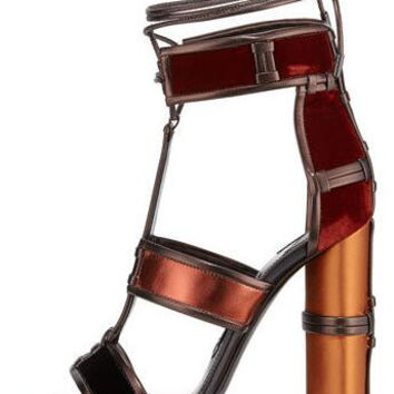 Lux Leather Sandals
