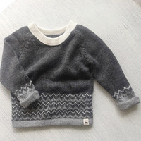 Baby Alpaca Wool Pullover Sweater