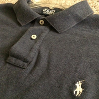 Sale!! Vintage Polo by Ralph Lauren Long sleeve casual cotton shirt size Mens XL Free shipping within the USA