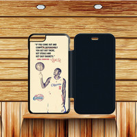 La Clippers Jamal Crawford Quote iPhone 6S|6S Plus Flip Case  Sintawaty.com
