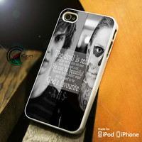 American Horror Story skull quote iPhone 4 5 5c 6 Plus Case, Samsung Galaxy S3 S4 S5 Note 3 4 Case, iPod 4 5 Case, HtC One M7 M8 and Nexus Case