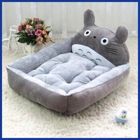 NUOYUFAN Cute Animal Cat Dog Pet Beds Mats Teddy Pet Dog Sofa Pet Cat Bed House Big Blanket Cushion Basket Supplies S-XL