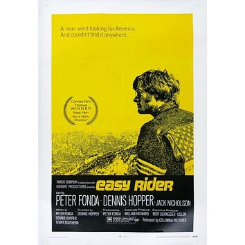 Vintage Easy Rider Movie Poster// Classic Movie Poster//Movie Poster//Poster Reprint//Home Decor//Wall Decor//Vintage Art