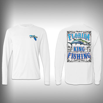 Florida Kingfishing Performance Shirt - Kingfish - Performance Shirts - Fishing Shirt