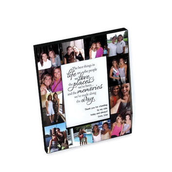 Personalized Photo Frame Sisters Bridesmaid Picture Frame Collage Maid of Honor Frame Best Friends Gift Thank You Parent Gift 4x6 5x7 8x1