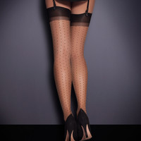 Stockings by Agent Provocateur - Polka Dot Stockings