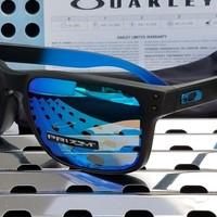 New Oakley HOLBROOK 9102-D255 Sunglasses Sapphire Fade/Prizm Sapphire Polarized