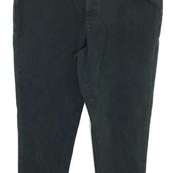 Lee Riveted RARE NOS Green High Waist USA Union Jeans Relaxed Fit Women's 16 L - NWT