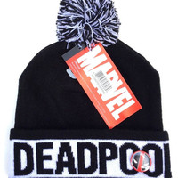Marvel Deadpool Pom Beanie