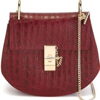 Chloé 'drew' Textured Shoulder Bag - Changing Room - Farfetch.com