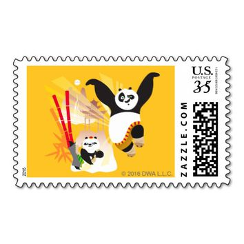 Po Ping and Bao Postage Stamp