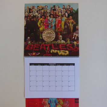 THE BEATLES Wall Calendar 2014 - Record Album Cover (Sgt. Pepper's Lonely Hearts Club Band)