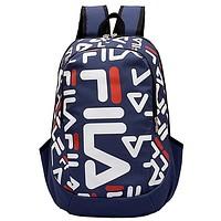 Fila 2019 new trend casual outdoor sports men and women shoulder bag Blue