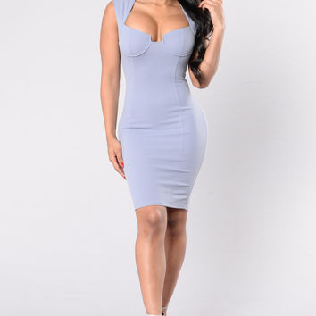 Pretty Thoughts Dress - Light Lavender