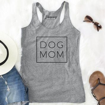 Dog Mom - Boxed Collection - Racerback Tank Top