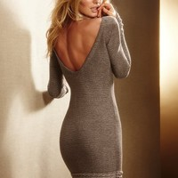 Lurex?- Sweaterdress with Ruffle Hem - Victoria's Secret