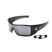 NEW Genuine Oakley BATWOLF OO9101 01 Black Mens Sunglasses Glasses