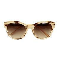 Moire Cat Eye Sunglasses