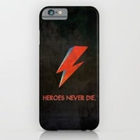 Heroes Never Die - for iphone iPhone & iPod Case by Simone Morana Cyla
