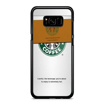 Starbucks Coffee Cup Samsung Galaxy S8 Plus Case