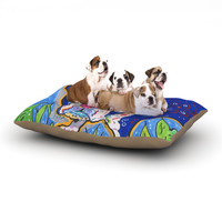 "Rebecca Fischer ""Addy Mae"" Pug Terrier Dog Bed"