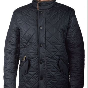 BARBOURPOWELL QUILTED JACKET - NAVY