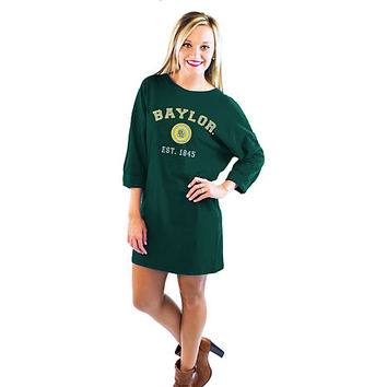 Baylor University Women's Vintage T-Shirt Dress | Baylor University