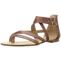 Splendid Womens Caddie Leather Strappy Thong Sandals