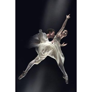 American Ballet poster Metal Sign Wall Art 8in x 12in