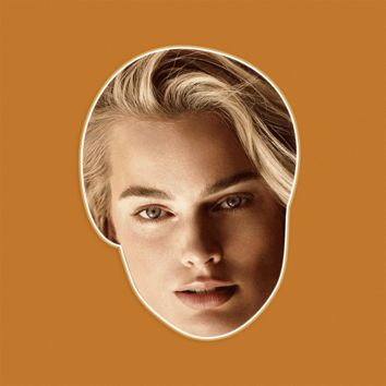Sexy Margot Robbie Mask - Perfect for Halloween, Costume Party Mask, Masquerades, Parties, Festivals, Concerts - Jumbo Size Waterproof Laminated Mask