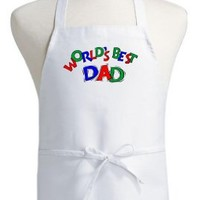 World's Best Dad Cooking Aprons For Men, Fathers Day Apron Ideas
