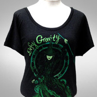 Buy Wicked on Broadway Gray Defy Tee - Ladies | The Broadway Store