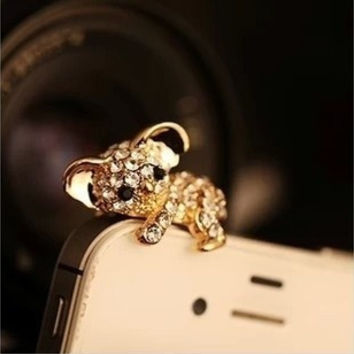 Cute Koala Dust Plug for iPhone 4 4s 5 5s = 1652439684