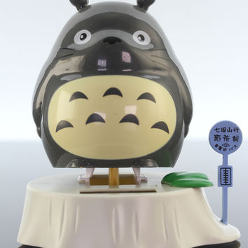 Totoro Solar Wobbler, Dark Grey