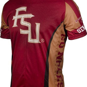 NCAA Men's Adrenaline Promotions Florida State (FSU) Cycling Jersey