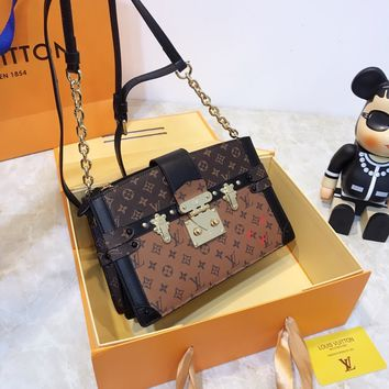 Louis Vuitton LV Trunk Clutch Cross Body Bags