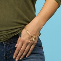 Sale-gold Oh So Charming Bracelet