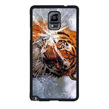 tiger in water cracked out samsung galaxy note 4 note 3 cover cases