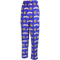 Golden State Warriors Micro Polar Fleece Pants – Royal Blue