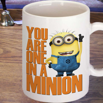 despicable me you are one in a minion mug