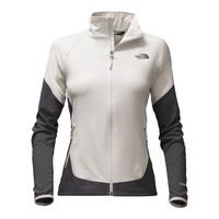 Women's Nimble Jacket in Moonlight Ivory and Asphalt Grey by The North Face - FINAL SALE