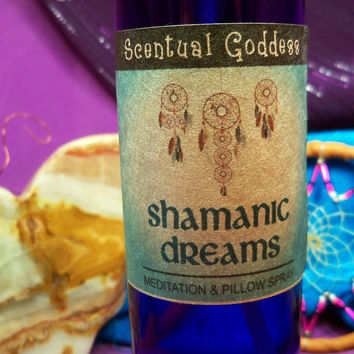 SHAMANIC DREAMS SPRAY - Shaman Meditation & Pillow Spray for Vivid Dreams & Visions