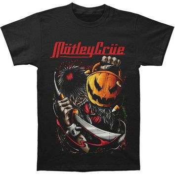 Motley Crue Men's  Halloween T-shirt Black
