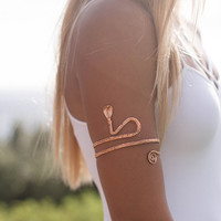 Copper Kundalini Healing Bangle