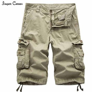 New Arrival 2017 Mens Shorts Fashion Beach Shorts Men Casual Camo Camouflage Shorts Military Short Pants Male Cargo Overalls 63y